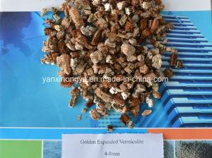 Het gouden Slivery Uitgebreide Vermiculiet gebruikte Organisch Landbouw het Planten van de Meststof Kinderdagverblijf