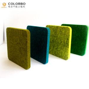 Polyester-Faser-akustisches Panel für Heimkino