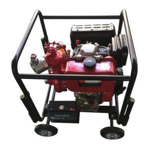 Marco de las viviendas -con motor Diesel Bomba de la lucha contra incendios