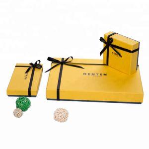 도매 공장 주문 엄밀한 서류상 선물 포장 마분지 서류상 선물 상자
