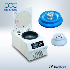 Centrifuga refrigerata ad alta velocità 16000rpm della centrifuga del laboratorio medico della Tabella