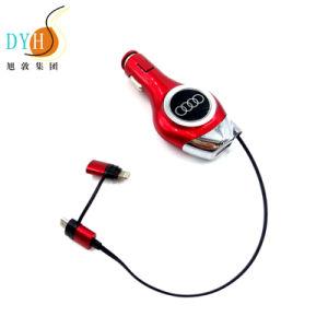 Оптовая торговля новые поступления портативный складной мотовила кабель автомобильное зарядное устройство
