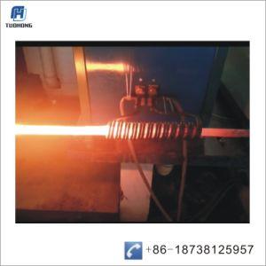 Вал ролика металлические налаживание индукционного нагрева машины
