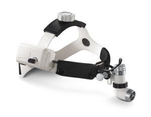 Hl202A低価格の医学の外科ヘッドライト、再充電可能なリチウム電池が付いているEntヘッドランプ