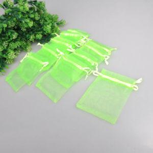 販売のギフトのための多彩な結婚式のオーガンザの袋のドローストリング袋