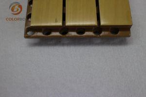 Fehlerfreie Isolierungs-Material-hölzernes Bauholz-akustisches Panel