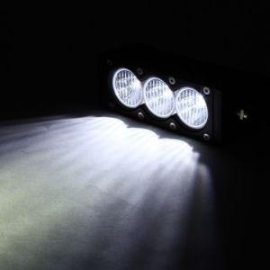 Aangepast 6  30W Enige Offroad LEIDENE van de Rij Amber+White Lichte Staven