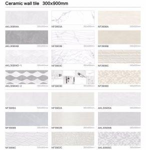 verglaasde het Moderne Ontwerp Inkjet van 300X900mm de Binnenlandse Ceramische Tegel van de Muur (NF391023)