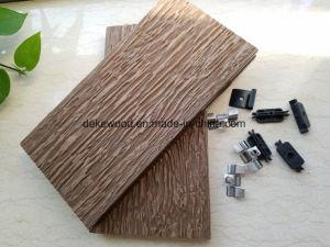 Красивые WPC декорированных плата пластмассовые деревянные полы с УФ