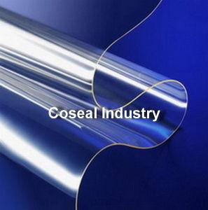 透過堅いプラスチックPVC (ポリ塩化ビニール)シート