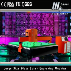 Laser de grande taille Engraving Machine (HSGP-L) de Decoration Glass 3D