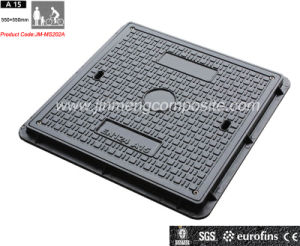 EN124の正方形のComposite Manhole Cover