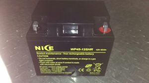 12V 45AH VRLA герметичный свинцово-кислотный необслуживаемая батарея ИБП