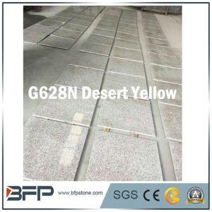 黄色いG682nの砂漠の黄色の花こう岩の自然な石造りの床タイル