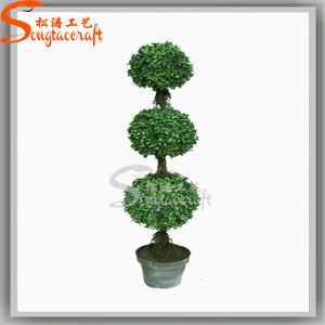 Venda a quente de Guangzhou Mini Topiary Artificial Árvore da fábrica