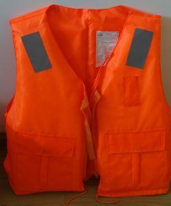 先発の救命胴衣