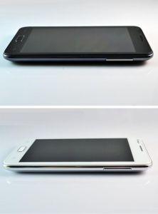 Design fino de 5 com sistema Android 4.03 Smart Phone/Tablet com GPS Bluetooth duplo SIM Mtk6573 com Núcleo Duplo