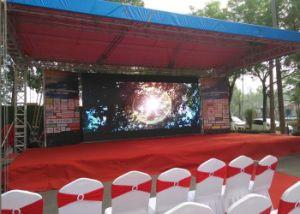 P4.81mm écran LED haute résolution, location de plein air plein écran LED de couleur