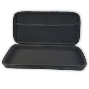 Fermeture à glissière broderie logo personnalisé EVA Mallette de transport cosmétique