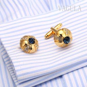 VAGULA heiße Verkaufs-Mann-Schmucksachen Gemelos blaue Opalmanschettenknöpfe 161