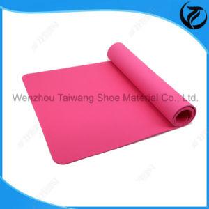 Confortable Eco-Friendly Anti Slip Dual / EVA / TPE / PVC Color Nature Rubber Yoga Mat