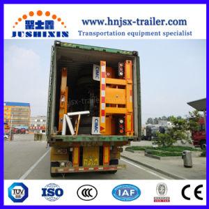 3axles 45FT 콘테이너 판매를 위한 해골 트럭 트레일러를 반 제동하는 Jsxt 2018 새로운 아BS