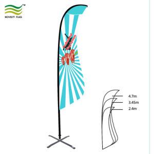 Качество пользовательских полет Бич Blade-слезники пуховые флаги (TR-NF04F06059)