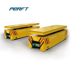 持ち上がる表が付いているモーターを備えられた平板の転送のカート