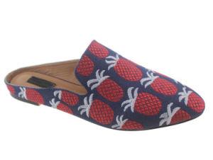 Handmade Flats Diapositive de patiner sur les femmes Mules chaussures sandales sandales