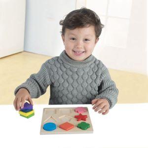 As crianças a forma de madeira Puzzle Educativos Brinquedos