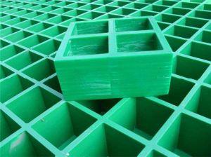 Moldeado de fibra de vidrio/rejilla de malla cuadrada 38X38X38/FRP, GRP chirrido