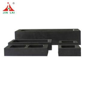Venda a quente de metais personalizados de alta qualidade do molde de lingotes de grafite de fusão
