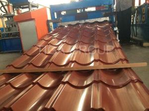 PPGI Gegolfte Staalplaat/de kleur-Met een laag bedekte Tegel van de Stap van het Dak voor Afrika