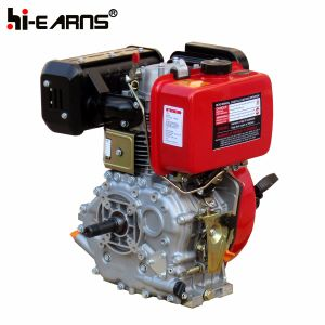 10 de Dieselmotor van PK met de Rode Kleur van de Schacht van de Draad (HR186FA)