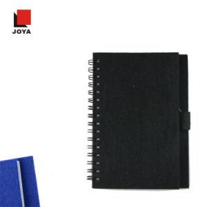 2017 Joya Preço competitivo novo design do notebook em espiral com feltro