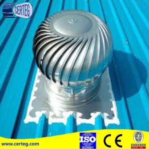 風駆動機構の回転煙突の頭巾の屋根の換気扇