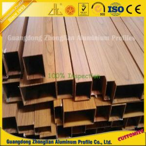Tubi di alluminio del grano di legno per la decorazione del portello e della finestra