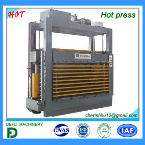 Pressione a quente de laminação de fábrica para portas