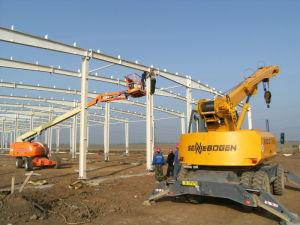 La construcción de estructuras de acero para la estructura de acero Inmobiliaria Taller de acero