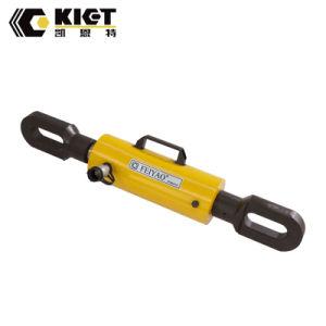 Вытяните гидравлический цилиндр одностороннего действия в легированная сталь