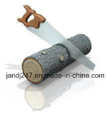 Het Knipsel van het Hulpmiddel van de hardware zag Houten Handsaw