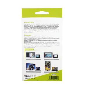USB3.0 aan de Kabel van de Adapter van de Vertoning HDMI