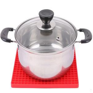 De milieuvriendelijke Mat van de Pot van het Gebruik van de Keuken van het Silicone Hittebestendige Hete