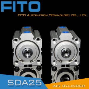 Sda 32mmは二重処置のアルミ合金の空気シリンダーを退屈させる