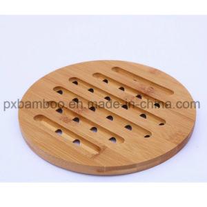 Бамбуковые No-Slip письменный стол в таблице короткого замыкания на наружное кольцо подшипника и ужин в горшочках Теплоизоляция коврики.