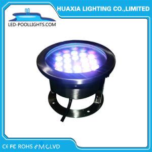 Exterior de 12V LED RGB Spotlight luz subacuática