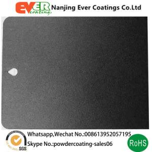 Ral9005砂のしわの質マットかBalckカラー静電気のスプレーの粉のコーティング