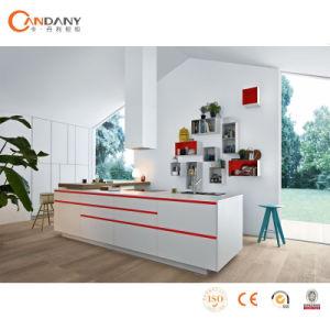 Высокое качество роскошь Глянцевая лаком кухонным шкафом