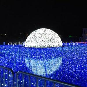 LED-programmierbare große Schuppen-im Freienweihnachtslichter