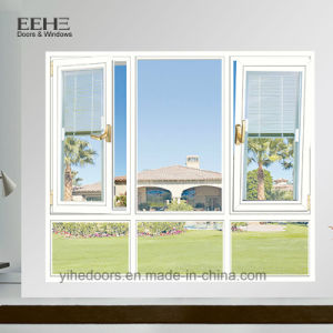 Tempered 두 배 유리를 가진 주문을 받아서 만들어진 알루미늄 여닫이 창 Windows